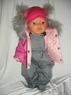 Сшить зимний костюм на беби бон