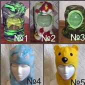 Детские шлемы в ассортименте, шапка-шлем
