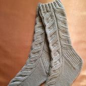 Носки со жгутами