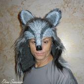 """Маска """"Волк"""" (оформление головы для мюзикла Красная шапочка)"""