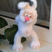 Печалька  вязаный заяц)