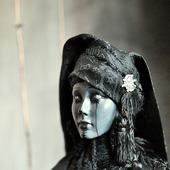 """""""Ведьма"""" эксклюзивная коллекционная кукла ручной работы."""
