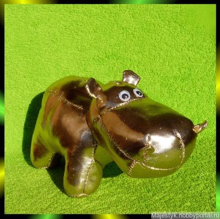 Бегемоты сделанные своими руками