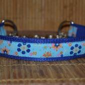 Ошейник для собак Цветочный мартингейл