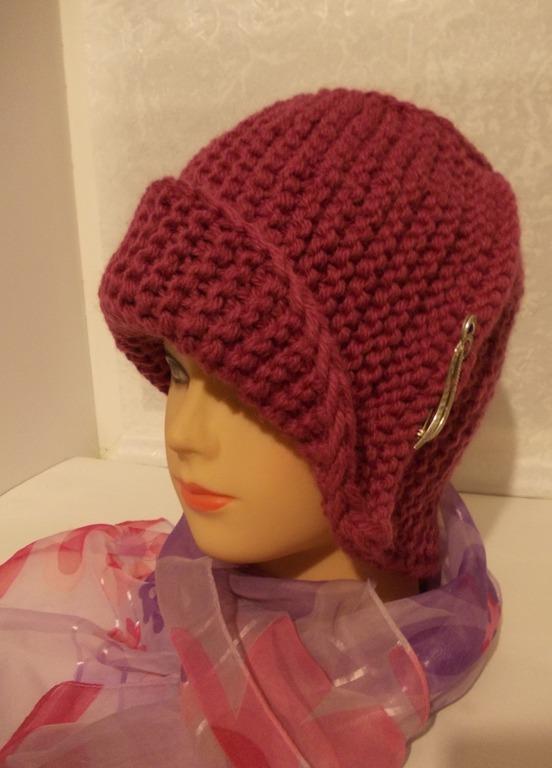 Вязание шапок в ручную 327