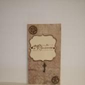 Иткрытки и конверт для денежного подарка