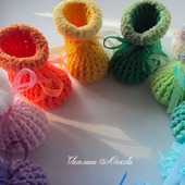 Пинетки малышам всех цветов радуги в ассортименте