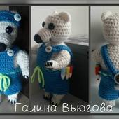 Медвежонок мальчик Томсик