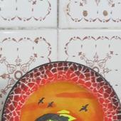 """Декоративная тарелка   """"Африка"""""""