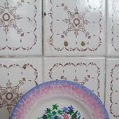 """Декоративная тарелка   """"Фламинго"""""""