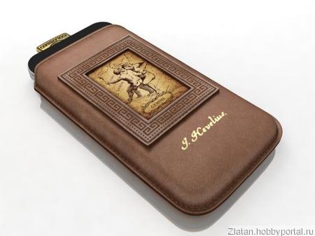 Чехол для телефона iPhone 5 (ZODIAC) ручной работы на заказ