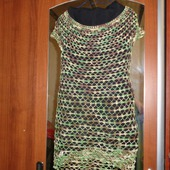 Пляжная туника платье
