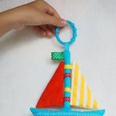 """Сенсорная игрушка """"Кораблик"""""""