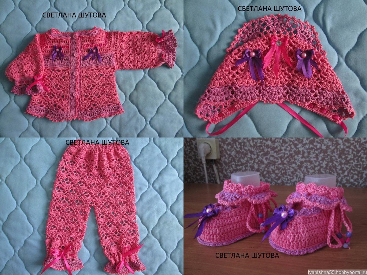 Вязание для детей до года: вещи для младенцев спицами и 32