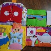 Дом- сумка для кукол