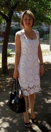 Платье мотивами (для примера) ручной работы на заказ
