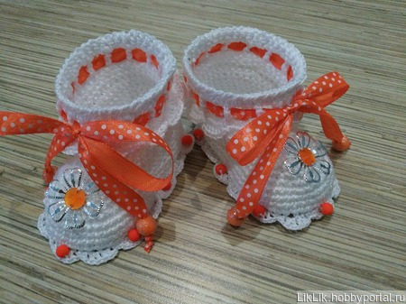 Пинеточки из хлопка ручной работы на заказ