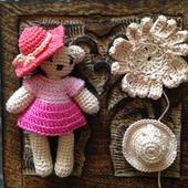 Мишутка девочка ручной работы