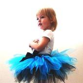 Юбка-пачка или tutu Голубая лагуна