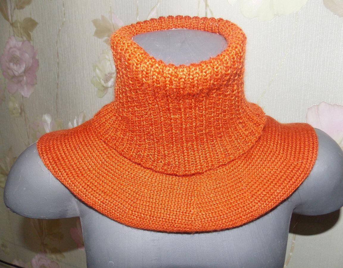 Самое простое вязание манишки для начинающих