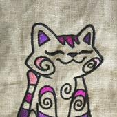 Вышивки Котик Мяу-с-с-с