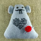 """Подушка-игрушка """"Усатый Мышь """""""