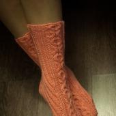 Носки женские полушерстяные