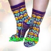 фото: носки с орнаментом