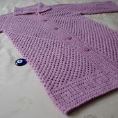 """Шазюбль - легкое пальто """"Розовый туман"""""""