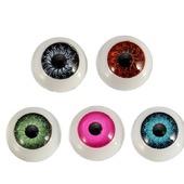 Живые пластиковые глаза для игрушек 12 мм. Без крепления