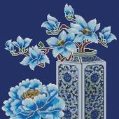 Схема вышивки Натюрморт в китайском стиле