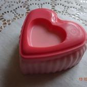 """Мыло ручной работы """"Двойное сердце"""""""