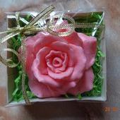 Мыло ручной работы Роза в подарочной упаковке