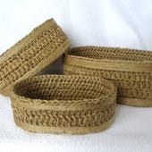 Органайзеры для рукоделия: Корзины для швейных принадлежностей