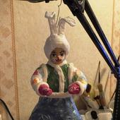 """Кукла ватная """"Заяц"""""""