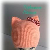 фото: вязанная шапка
