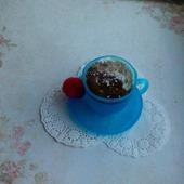 Мыло чашка кофе