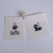 Заготовки. вышивка Кофе