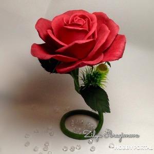 Украшение интерьера или моя роза на ножке)