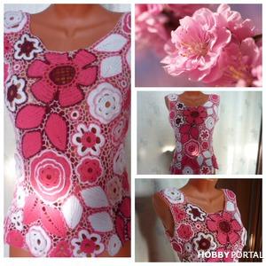 Блузка Розовые сны.