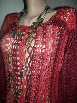 Вязаный джемпер. Автор Елена Бас.Knitted jumper. Author Elena Bass.