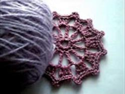 Мотив крючком. Crochet motif