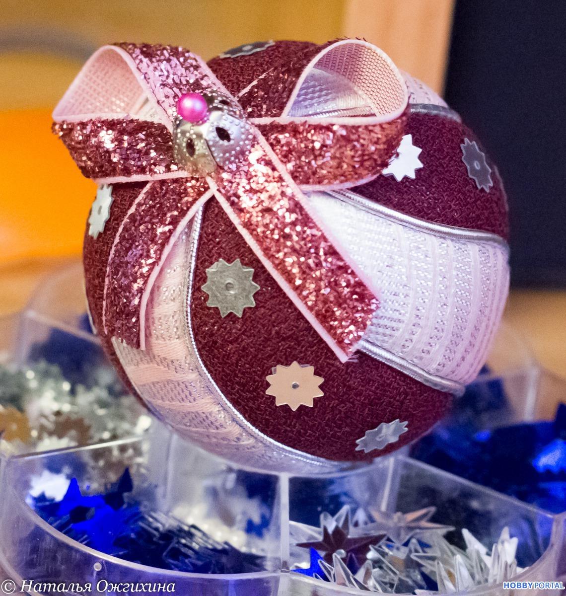 Стикеры, новогодние шары красивые своими руками