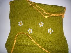 Вязаное детское платье. Автор Елена Бас.Knitted baby dress. Author Elena Bas.