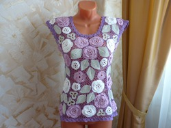 Блузка Сирень размер 44