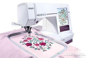 Какая у вас вышивальная машина?