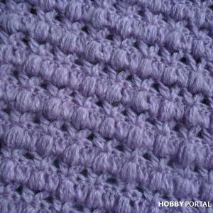 Простой вязаный узор.Simple knitted pattern