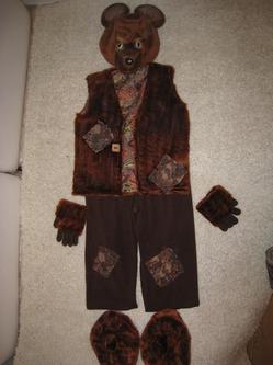 Новогодний костюм Мишка-косолапый для сказки