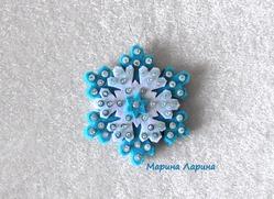 """Новогодняя игрушка на ёлку """"Снежинка"""""""