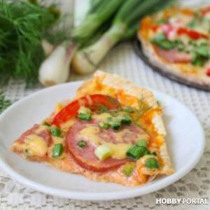 Эконом пицца на лаваше